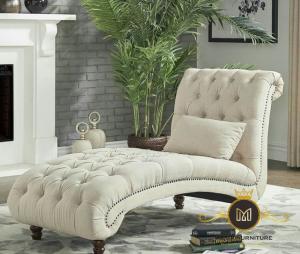 Sofa Lengkung Kayu Jati Modern