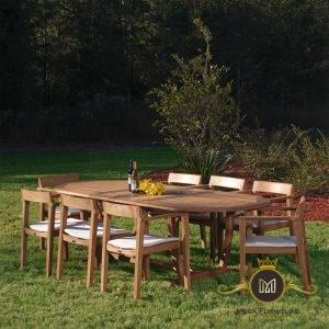 Set Kursi Makan Outdoor Modern