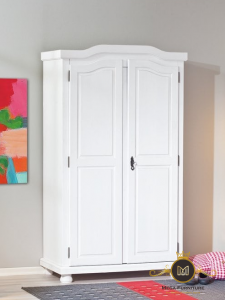 Almari Pakaian 2 Pintu Modern