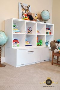 Rak Buku dan Mainan Anak