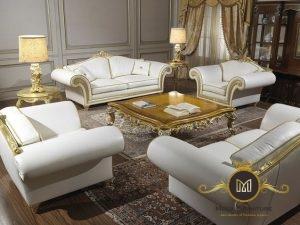 Sofa Snow White Elegant